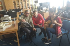 Na majstorskoj radionici kod Joséa Luisa Martíneza.